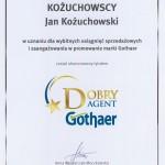 DOBRY AGENT GOTHAER JAN KOŻUCHOWSKI