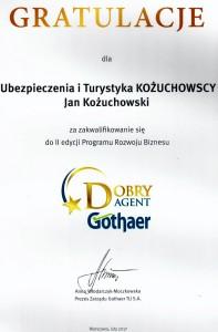 Wyróżnienie  2017 Prezes Gothaer
